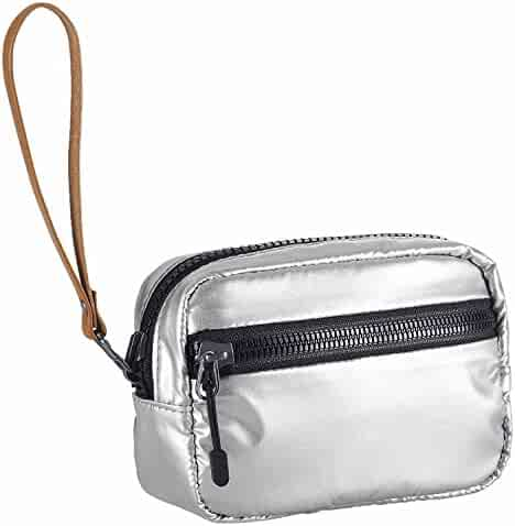 0724652443 Nike Unisex Studio Kit 2.0 Reversible Bag Small Metallic Grey Black