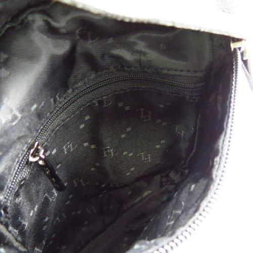 for leather men for black Bag Pèche' De 'Peau slim dqtS6nx5w