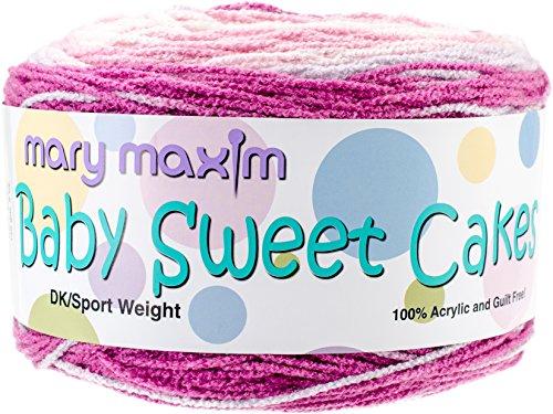 Cakes Baby Sweet (Mary Maxim Chubby Cheeks Baby Sweet Cakes Yarn)