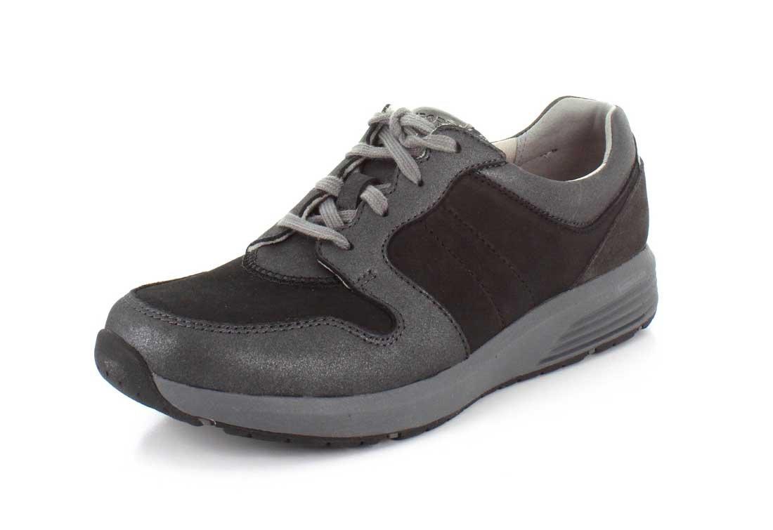 Rockport Women's Trustride Derby Trainer Fashion Sneaker B06Y1GFHC5 9 E US|Black