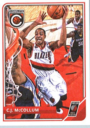 2015-16 Panini Complete Basketball Card #68 C.J. McCollum Card