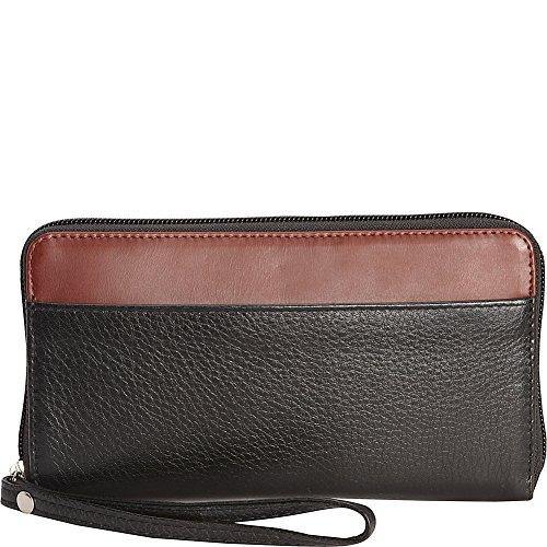 Derek Alexander Large Ladies Zip Wallet ()