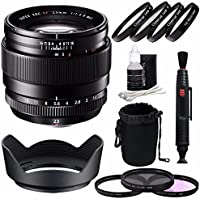 Fujifilm XF 23mm f/1.4 R Lens + 62mm 3 Piece Filter Set (UV, CPL, FL) + 62mm +1 +2 +4 +10 Close-Up Macro Filter Set with Pouch Bundle 2