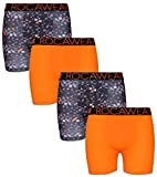 Kyпить Rocawear Boy's 4 Pack Performance Boxer Brief, Camo and Orange, X-Large/18-20' на Amazon.com
