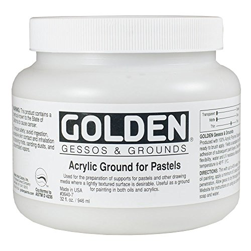 Golden Acrylic Ground for Pastels - 32 oz Jar