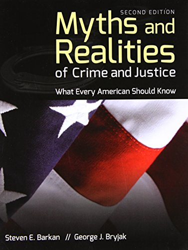 Myths+Realities Of Crime+Justice