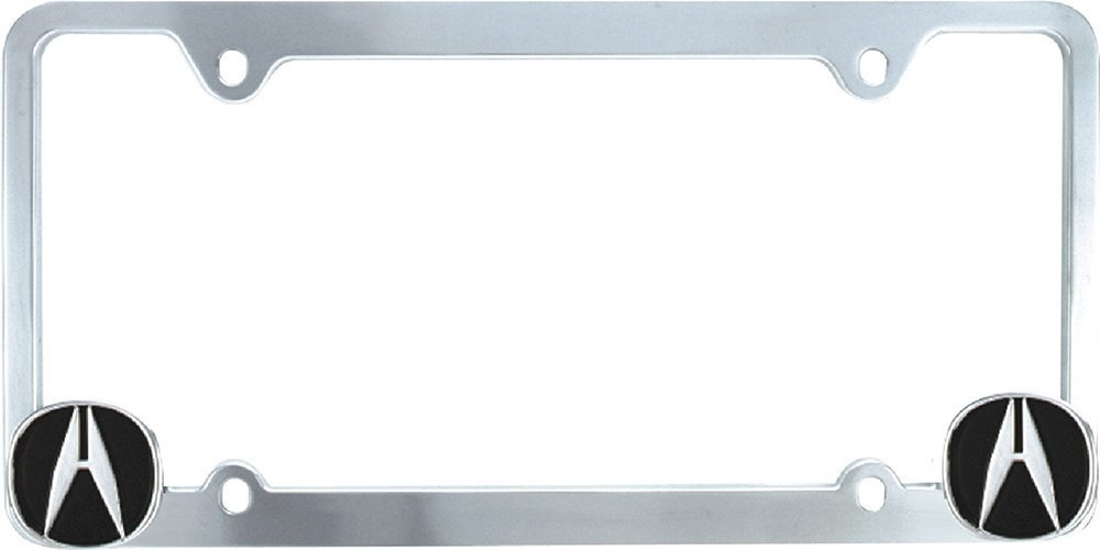 Amazon.com: Bully WL021-C Ford License Plate Frame - Chrome: Automotive