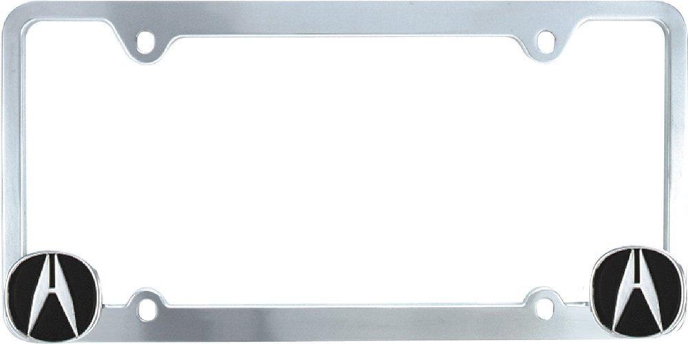 Amazon.com: Bully WL051-C Honda License Plate Frame - Chrome: Automotive