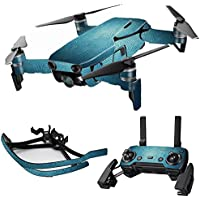MightySkins Skin for DJI Mavic Air Drone - Blue Swirls | Max Combo Protective, Durable, and Unique Vinyl Decal wrap cover | Easy To Apply, Remove, and Change Styles | Made in the USA