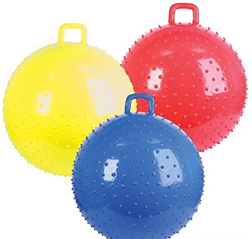 36'' KNOBBY BALL WITH HANDLE, Case of 2 by DollarItemDirect
