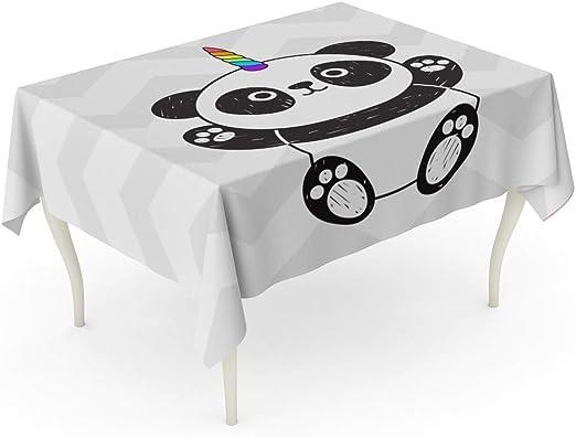 Amazon Com Tarolo Rectangle Tablecloth 60 X 84 Inch Animal Cute