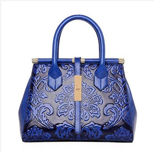4 Anlei Pu 1083 Couleurs 13 Cm Bag 010 Main Messenger À Blue Mme 22 Bandoulière Mode Sac 29 PIqrYwP