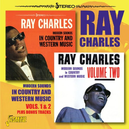 CD : Ray Charles - Modern Sounds in Country & Western Music 1 & 2 (CD)