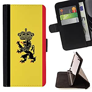 /Skull Market/ - MAJESTIC CREST FLAG For Sony Xperia Z3 D6603 - Caja de la carpeta del tir???¡¯???€????€??????????&f