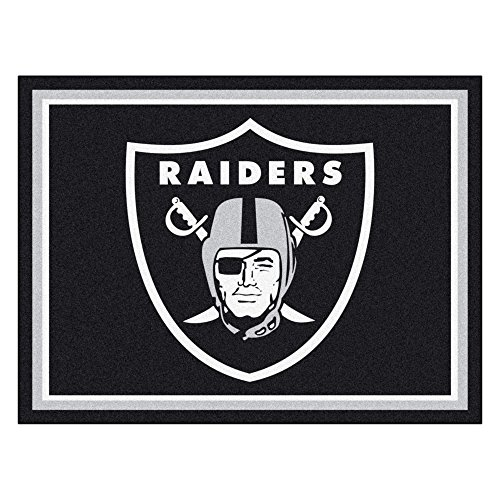 FANMATS 17493 NFL Oakland Raiders Rug by FANMATS (Image #5)