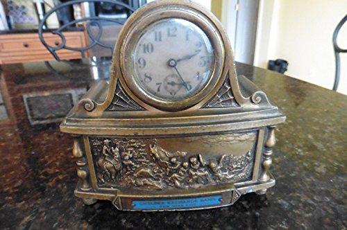Vintage Chelsea Exchange Bank New York City Promotional Item Waterbury Clock Co