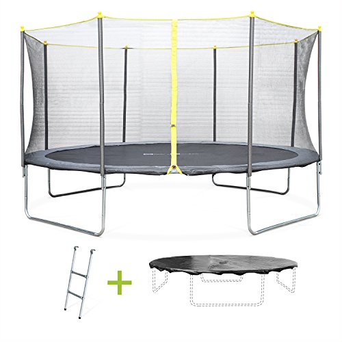 achetez le meilleur trampoline 430 cm avec nos conseils. Black Bedroom Furniture Sets. Home Design Ideas