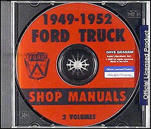 FULLY ILLUSTRATED 1949 1950 1951 1952 FORD PICKUP & TRUCK ... on