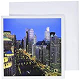 Chicago River Illinois - Greeting Cards, 6 x 6 inches, set of 6 (gc_61787_1)