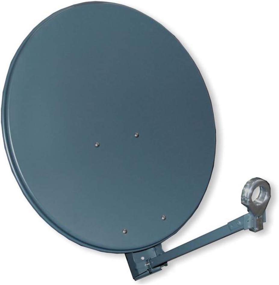 Gibertini XP-Premium - Soporte para antena parabólica (100 cm), color gris