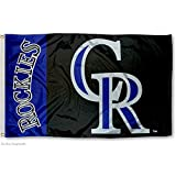 Colorado Rockies Flag 3x5 MLB Banner