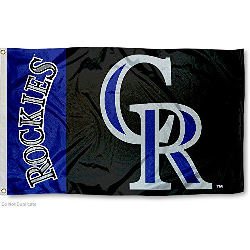 Colorado Rockies Flag 3x5 MLB Banner