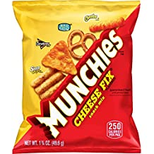 Munchies Cheese Fix Flavored Snack Mix, 1.75 Ounce (Pack of 64)