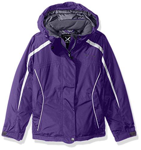 Arctix Girls Zoe Insulated Winter Jacket, Medium, Violet