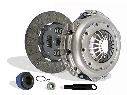 (Clutch Kit Works With Ford Pickup Truck F-150 F-250 FX2 STX XL XLT XTR Flotillera Doble Cab King Ranch Lariat Base Lobo 1997-2008 4.6L V8 GAS SOHC 4.2L V6 GAS OHV Naturally Aspirated)