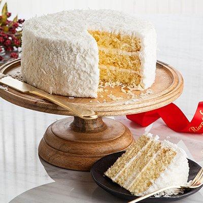 Coconut Layer Cake (Coconut Pecan Cake)