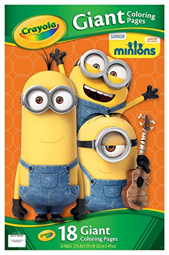 Crayola Giant Color Pages Minions