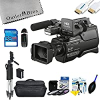 Sony HXR-MC2500 Shoulder Mount AVCHD Camcorder + Outlet Basic Pack