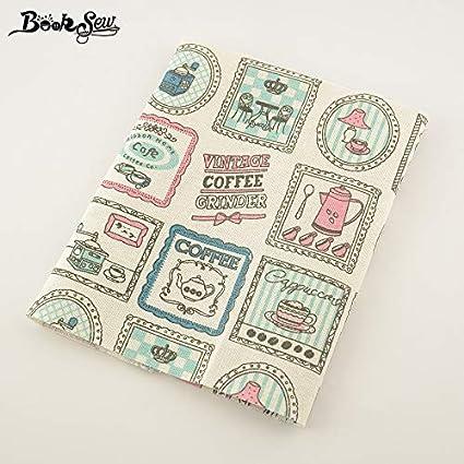 Amazon.com: Mantel de algodón textil de costura para mantel ...