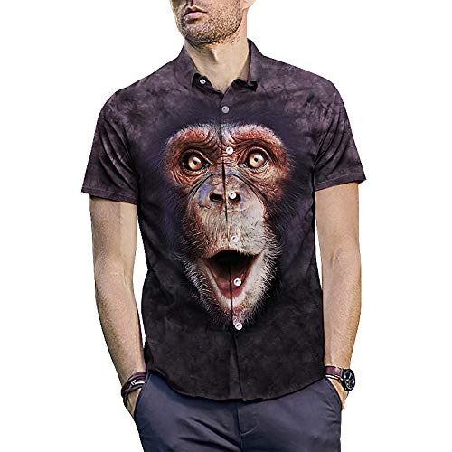 Camisas de vestir para hombre Para hombre de dibujos animados 3D ...