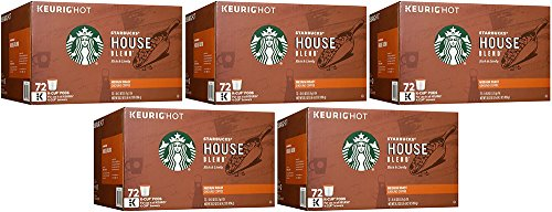 Starbucks Starbucks House WeUCL Blend, 72 Count (5 Pack) by Starbucks