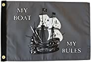 """My Boat, My Rules - 12"""" x 18"""" P"""