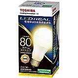 東芝ライテック LED電球 一般電球形 全方向タイプ 80W 電球色 LDA11L-G/80W 口金直径26mm