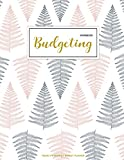 Budgeting Workbook: Finance Monthly & Weekly Budget Planner Expense Tracker Bill Organizer Journal Notebook | Budget Planning |   Budget Worksheets |Personal Business Money Workbook | Pink Floral Cover