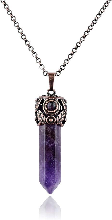 Amethyst Gemstone Necklace Amethyst