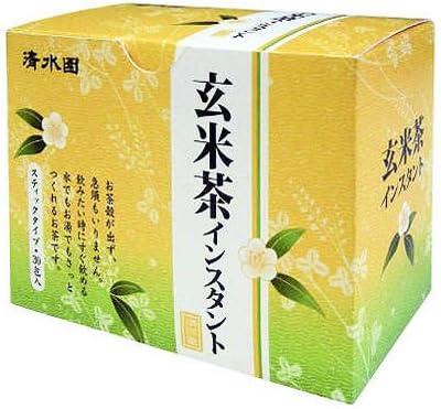 清水園 玄米茶インスタント 1g×30包