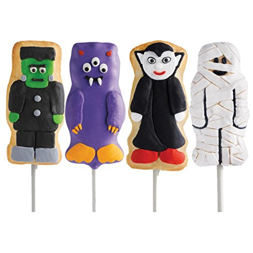 (Wilton Monster Shapes Treats Non-Stick 11