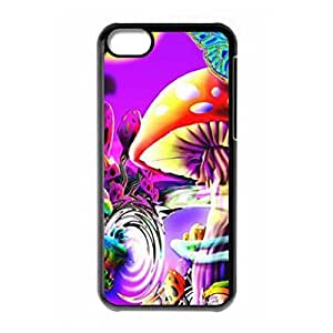 Hard back case with Crazy Trippy logo for iPhone 5C