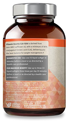 Vitamin-Bounty-CLA-1250mg-softgels
