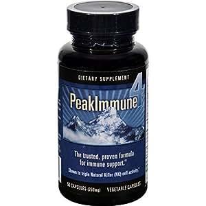 Peak Immune 4 250mg, 50 cap ( Multi-Pack)