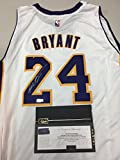 Kobe Bryant Autographed Signed White Los Angeles Lakers Jersey Certified Authentic Panini Hologram & Coa Card