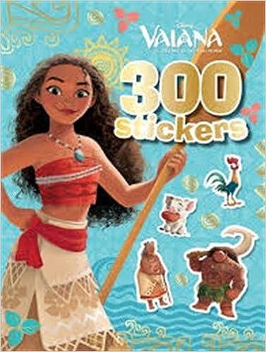 VAIANA - 300 Stickers: Amazon.es: Disney: Libros en idiomas extranjeros