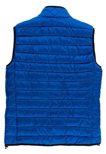 Homme Veste Manche Damassée Universum Blau Sans Napapijri Montant Col Pull qxpgtw6