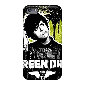 Anti-Scratch Hard Phone Case For Iphone 6 With Provide Private Custom Vivid Green Day Pattern CharlesPoirier