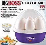 Big Boss 8864 Genie Electric Egg Cooker, Purple