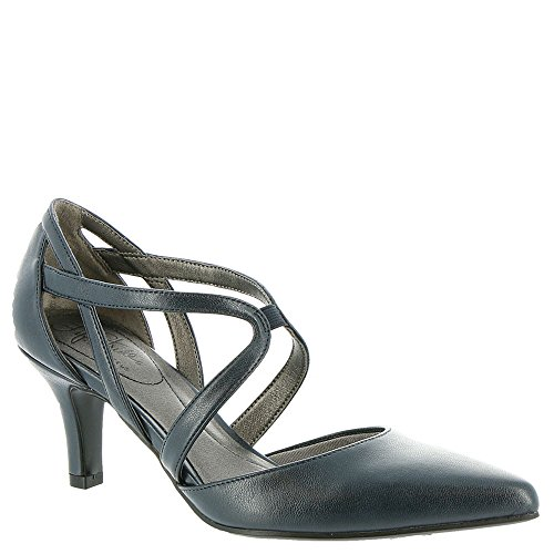 Lifestride Womens Seamless Dress Pump Classico Navy Vinci